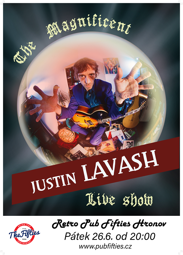 The Magnificent Justin Lavash Poster
